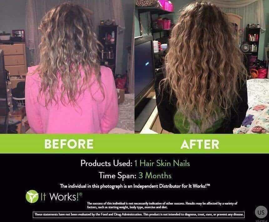 It Works Hair Skin Nails Results in 3 Months