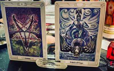 Tarot reading: the Intellect and Emotion