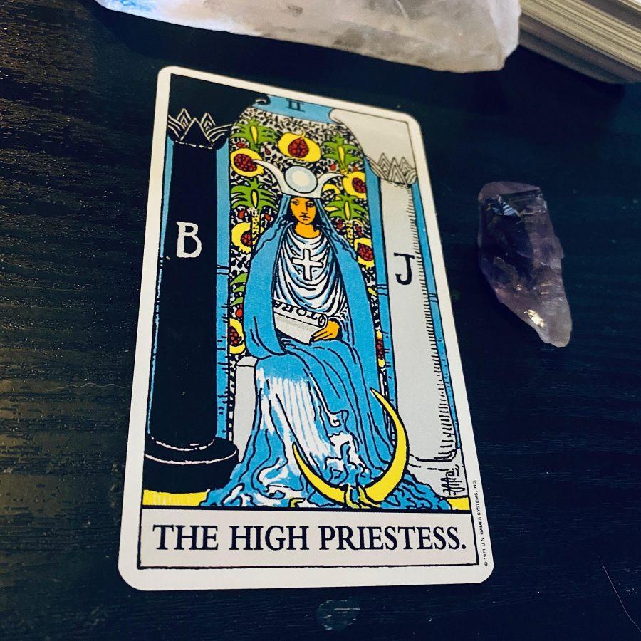 RWS The High Priestess