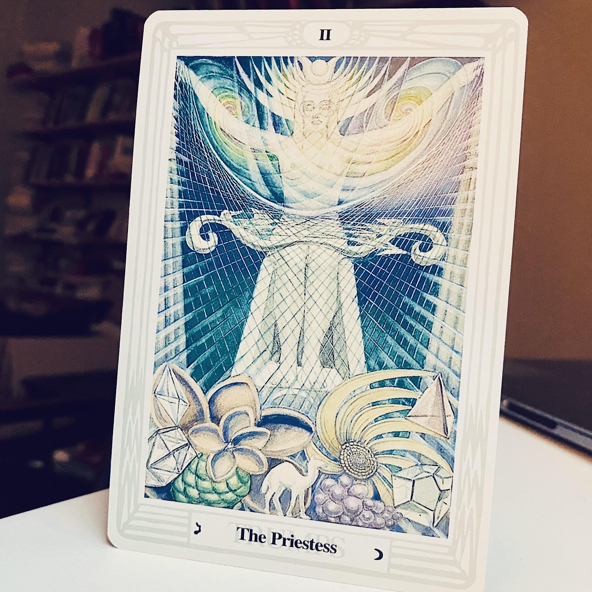 the high priestess thoth