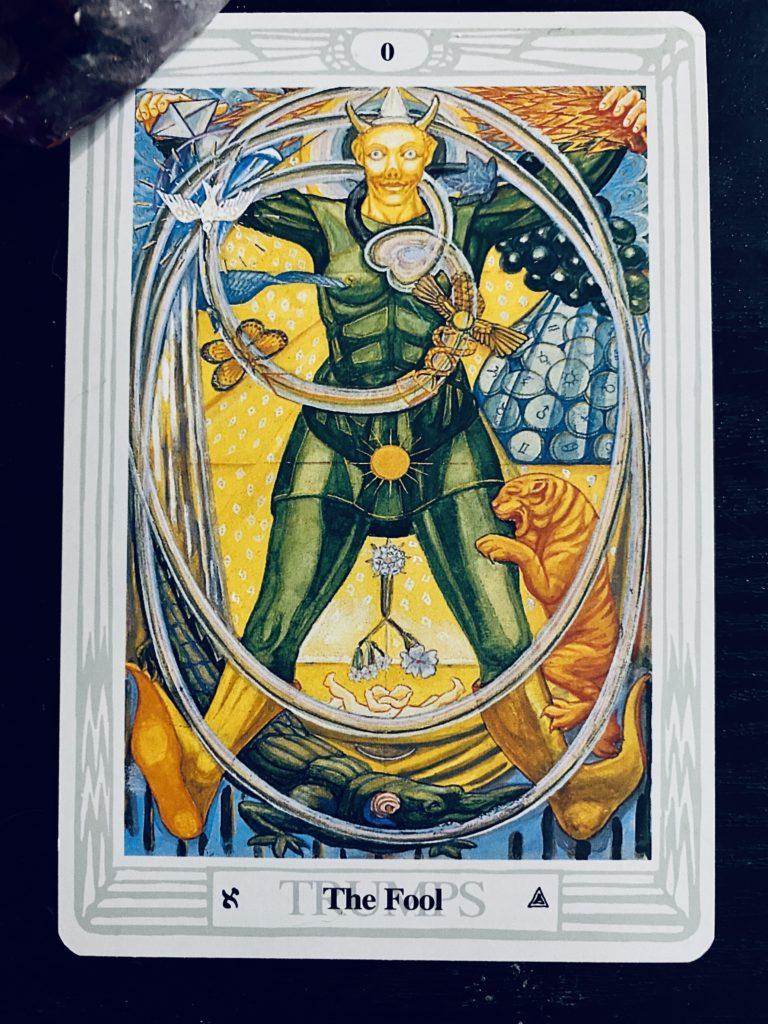 tarot thoth the fool
