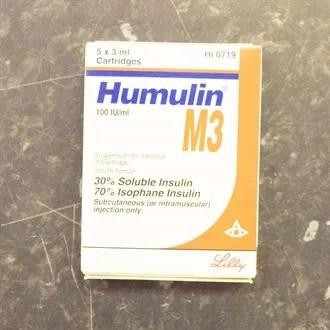 HUMULIN M3 CART 100IU/ML 5X3ML - Ashtons Hospital Pharmacy ...