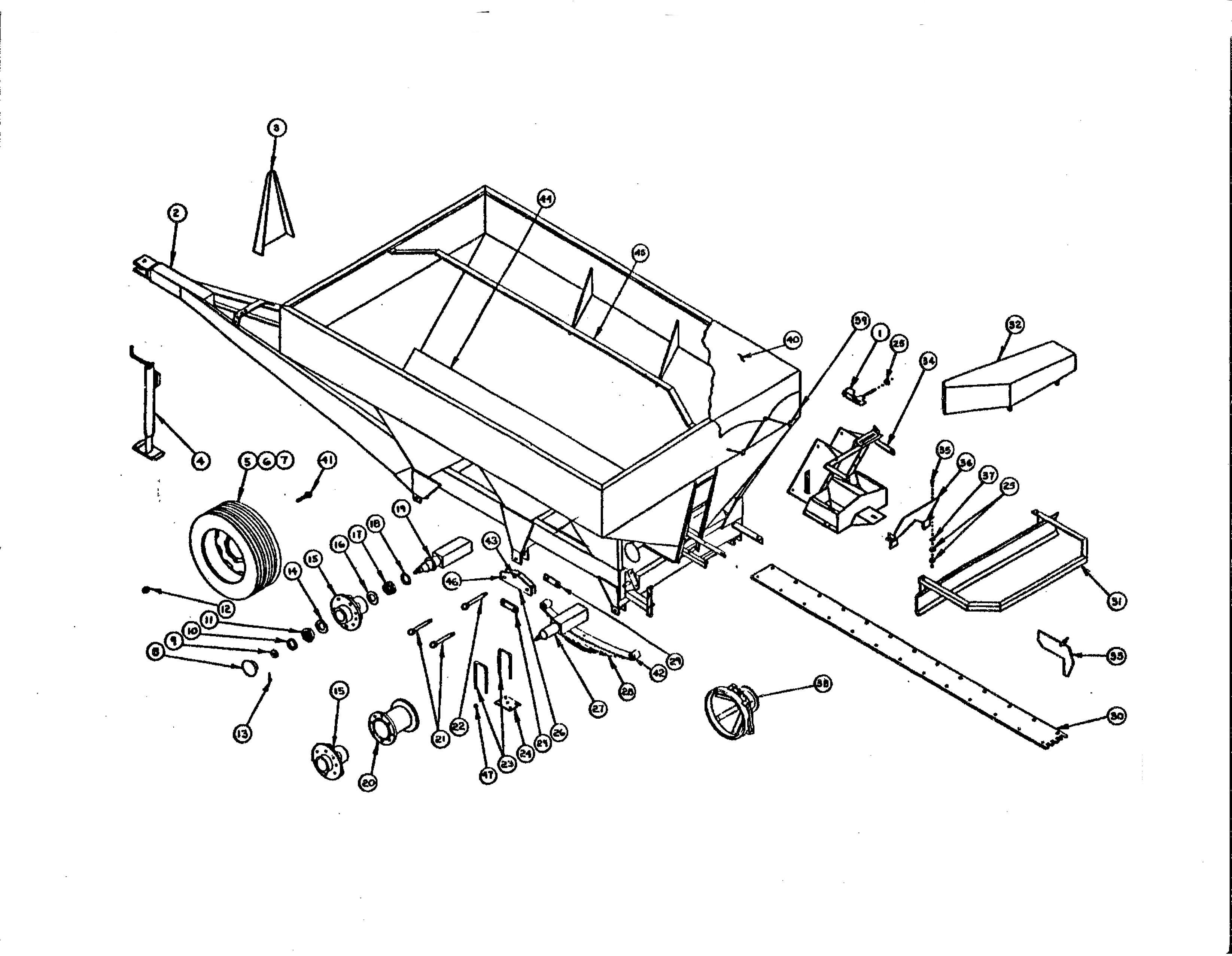 Willmar S600 Hopper Parts