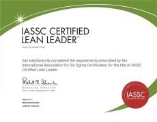 Lean Leader Certification Exam