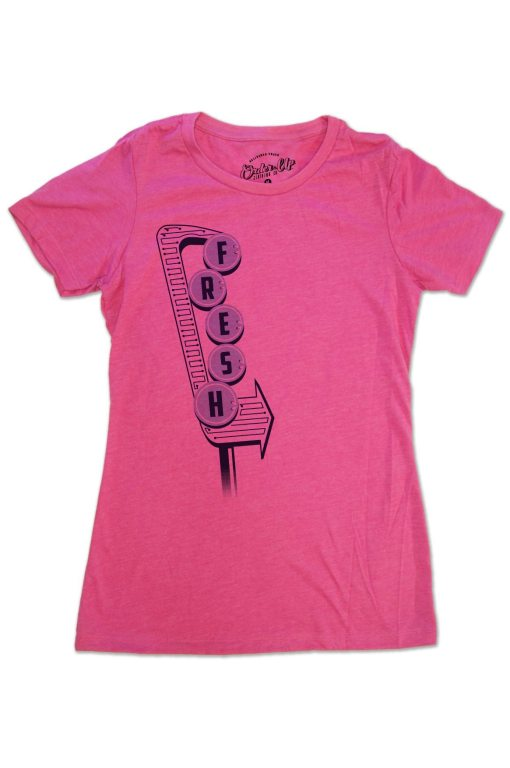 Womens Raspberry Fresh T-Shirt