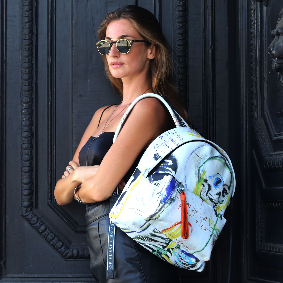 House of Sussex Girl with Backpack
