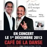 Flyer Mizikopéyi - Café de la Danse