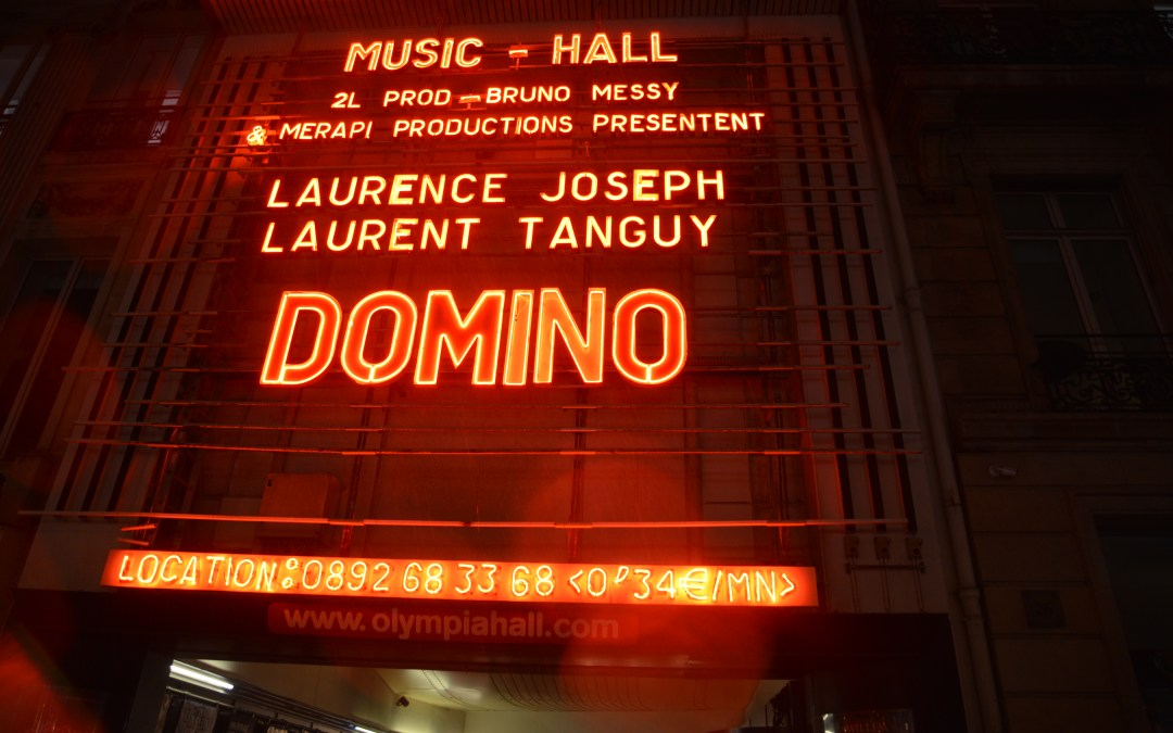 Domino, le spectacle à L'Olympia