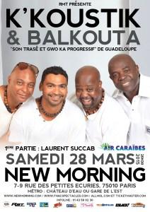 K'Koustik & Balkouta - New Morning