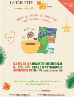Noël en conte et chocolat à Québec