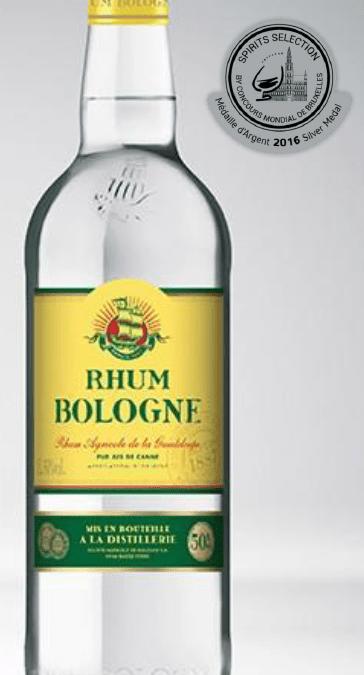 Gastronomie – Rhum BOLOGNE Blanc 50