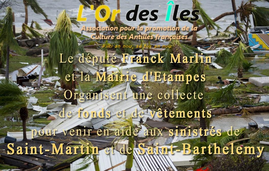 ETAMPES – Collecte pour Saint-Martin et Saint-Barthelemy