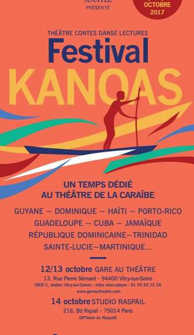 Festival KANOAS – le théâtre de la Caraïbe