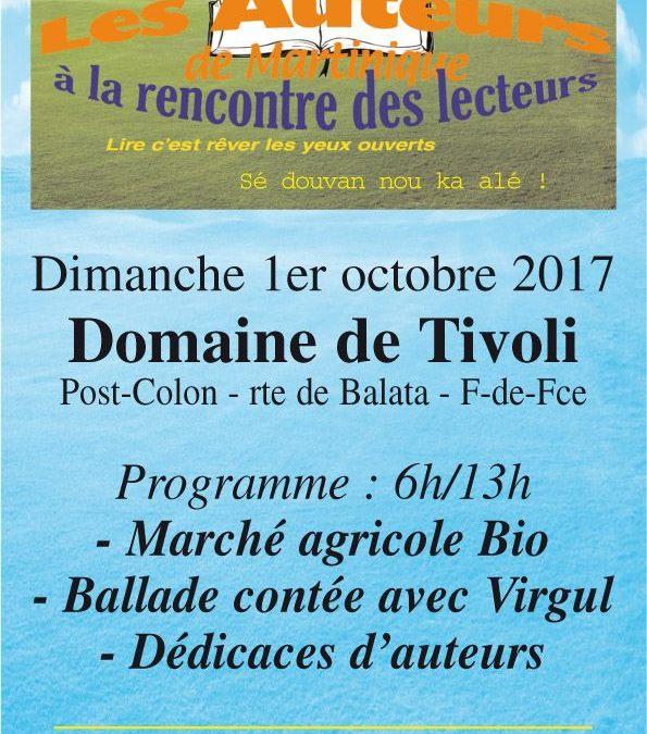 Martinique – Rencontre littéraire à Fort-de-France