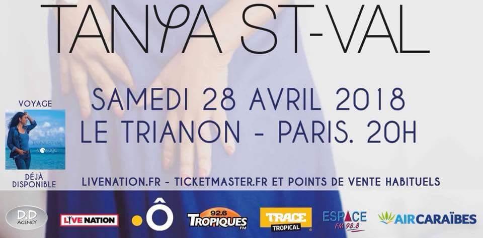 Concert – Tanya Saint-Val