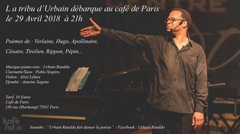 Concert – Urbain Rinaldo au Café de Paris