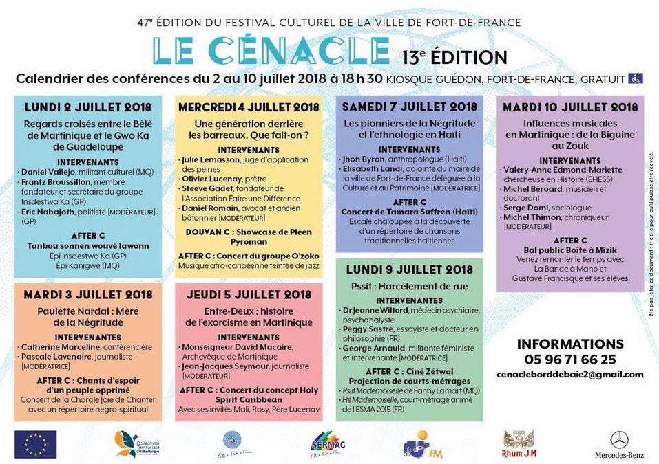 Festival – LE CENACLE 13eme Edition