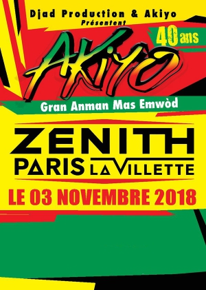 Concert – Akiyo fête ses 40 ans au Zenith
