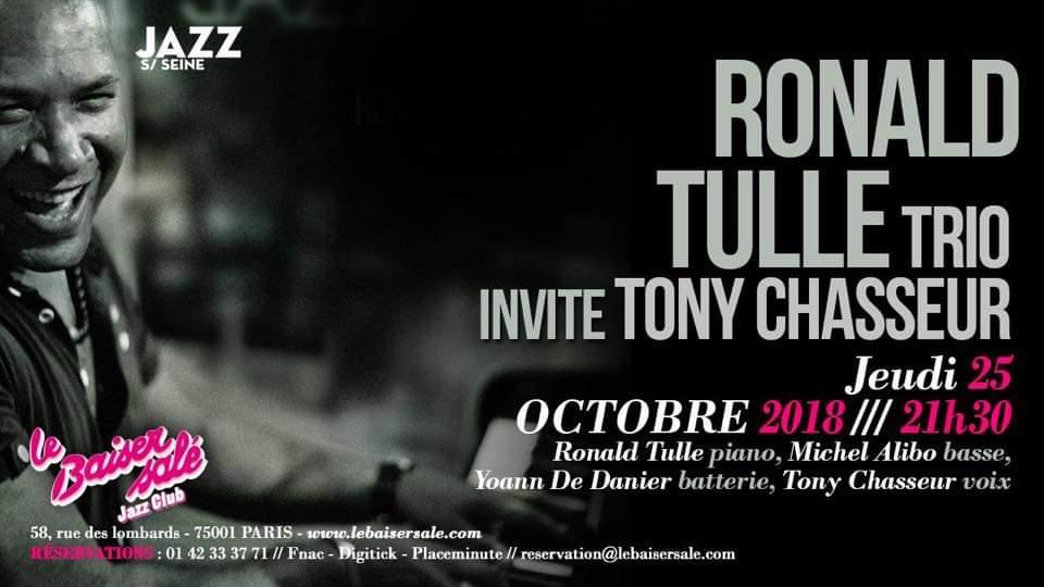 Concert – Ronald Tulle trio et Tony Chasseur