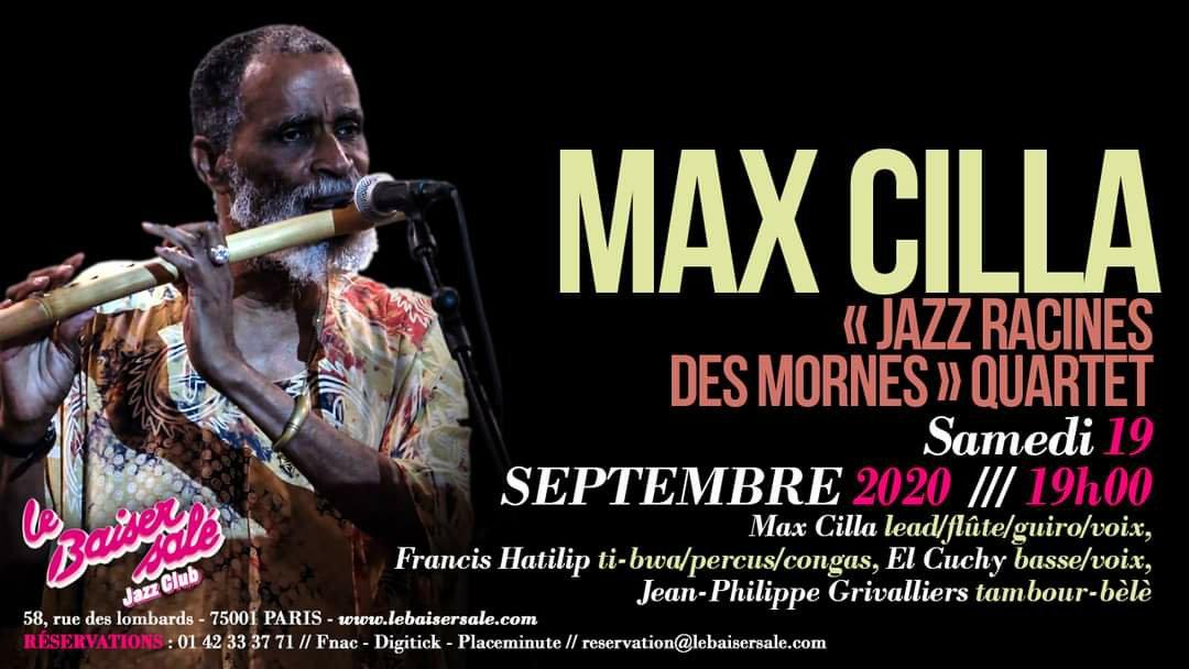 Concert – Jazz Racines des Mornes by Max Cilla
