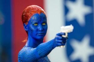 Jennifer Lawrence spiller rollen som Mystique, der kan skifte udseende efter behov (Foto: 20th Century Fox).