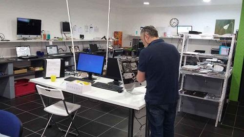 Dépannage iMac dans l'atelier d'OrdiBoutiK sur Marseille
