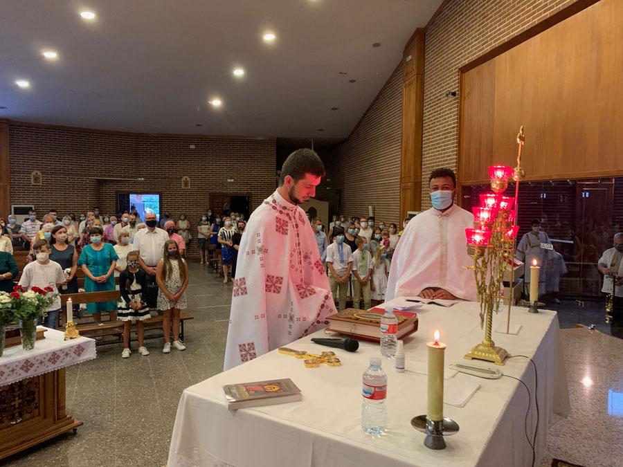 Presentación oficial del nuevo capellán de la comunidad greco-católica en Getafe