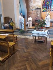 Visita del obispo de Girona a la comunidad ucraniana de Olot