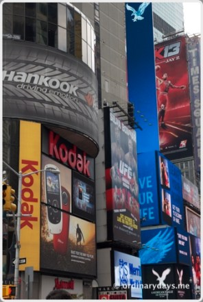 Times Square section