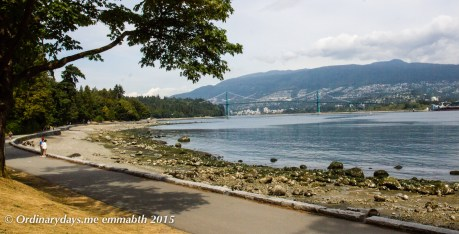 Stanley Park cycle path