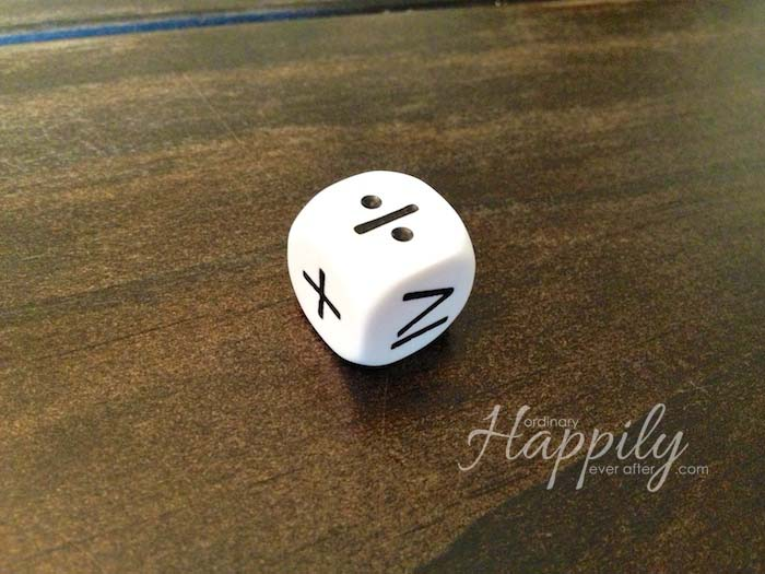 Educational Dice Bag Review | Ordinary Happily Ever After #homeschool #joyceherzog #games