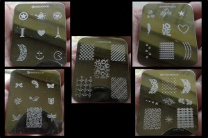 These are the image plates I have.