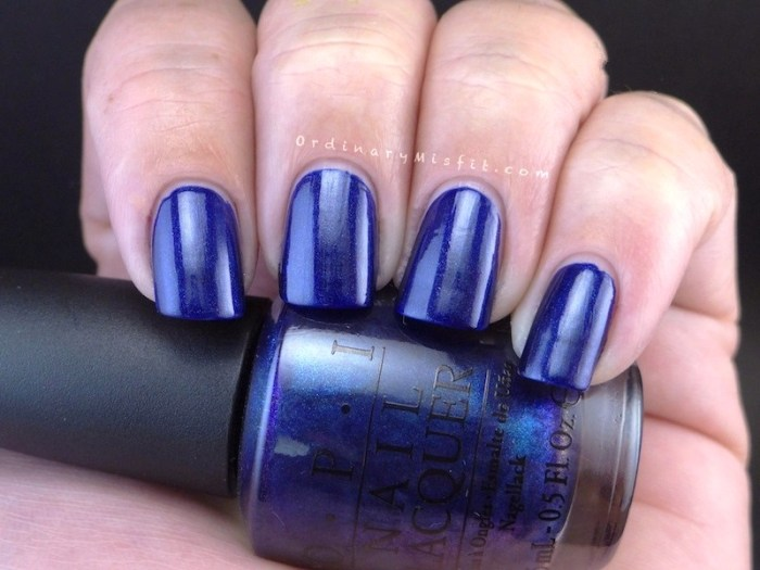OPI - Yoga-ta get this blue