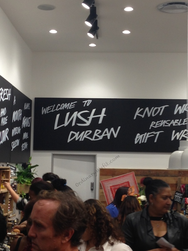 Lush is now open in Durban (Gateway)
