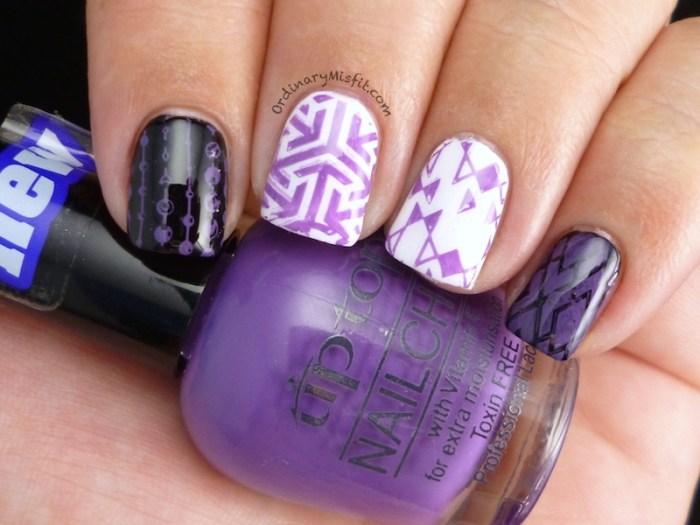 Tip Top - Purple Bow peep