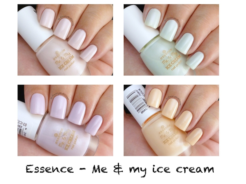 Essence - Me & My Ice cream polishes