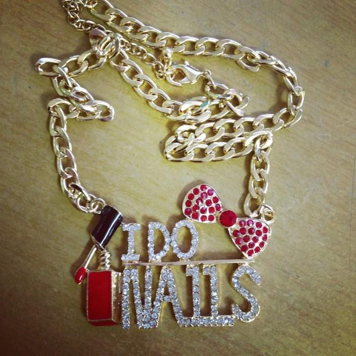 NailCandi necklace