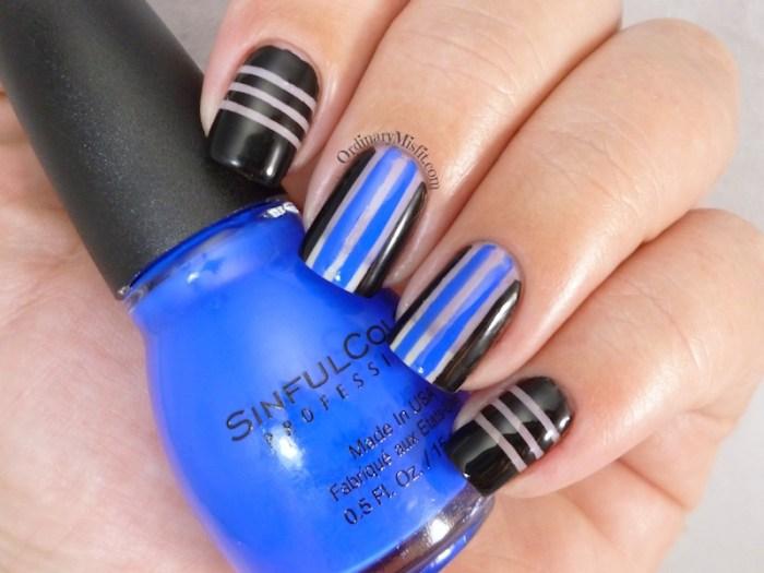 Negative space stripes 2