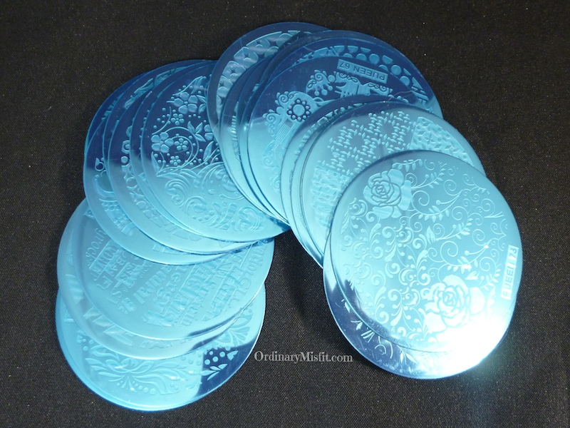 Pueen buffet stamping plates *Pic heavy*