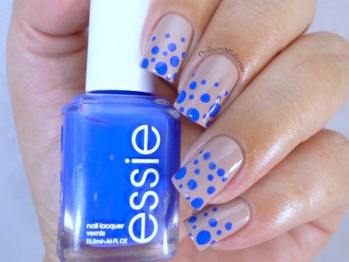 Blue & nude dotticure 3