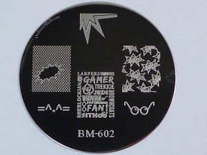 Bundle Monster 'Create Your Own' 2014 stamping plates BM602