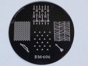 Bundle Monster 'Create Your Own' 2014 stamping plates BM606