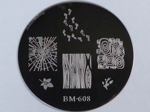 Bundle Monster 'Create Your Own' 2014 stamping plates BM608