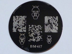 Bundle Monster 'Create Your Own' 2014 stamping plates BM617