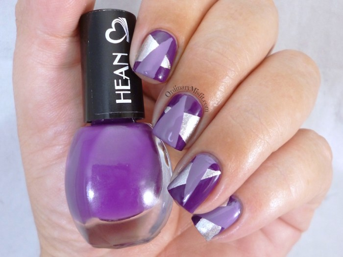 Hean I love Hean collection #805 with nail art 3