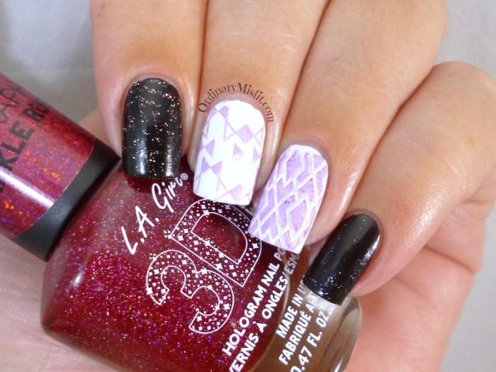 LA Girl - Purple effect