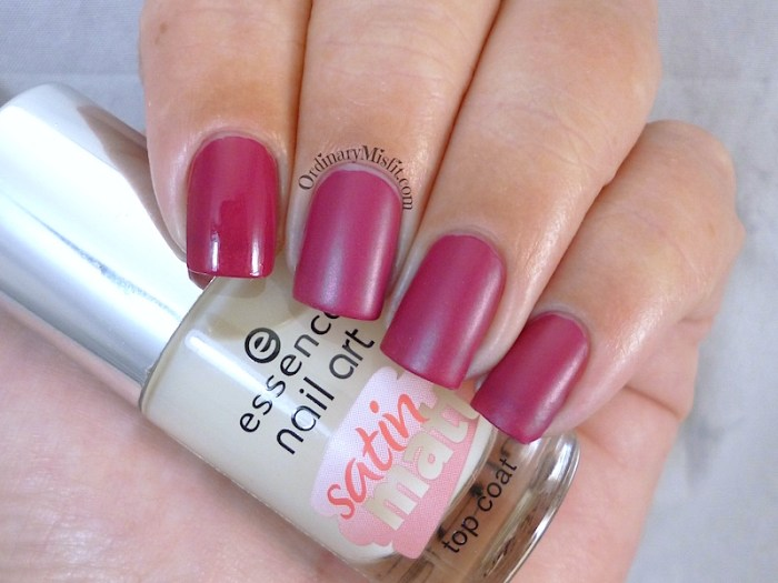 Essence - Matt about you Satin matte topcoat