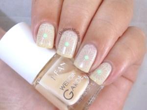 Hean Wedding Garden collection #639 with nail art
