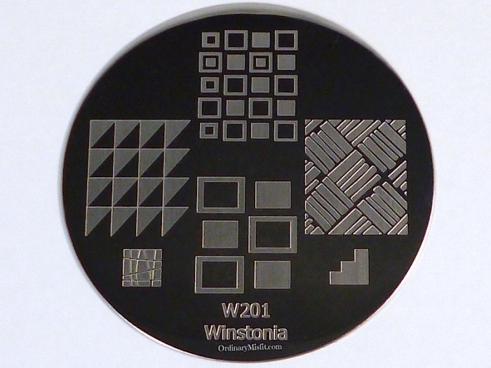 Winstonia stamping plate W201