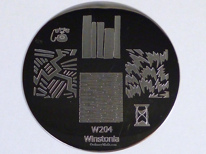 Winstonia stamping plate W204
